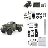 JJRC Q61 Kit 1/16 2.4G 4WD Off-Road Military Truck Crawler Remote Control Car