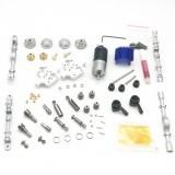 WPL Metal Silver Bridge Axle+Gear Box+Drive Shaft For B14 B24 B24ZH C14 C24 Remote Control Car