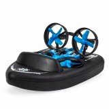 JJRC H36F Terzetto 1/20 2.4G 3 In 1 RC Boat Vehicle Flying Drone Land Driving RTR Model