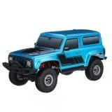 1/18 240038 2.4G Mini Remote Control Car Waterproof ESC Motor 3Line Servo Vehicle Models Crawler
