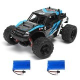 HS 18311/18312 1/18 35km/h 2.4G 4CH 4WD High Speed Climber Crawler Remote Control Car Toys Two Battery