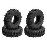 4pcs 13616 Remote Control Car Tire For RGT 136240 V2 1/24 2.4G Vehicle Remote Control Rock Crawler Parts