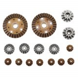 Wltoys Metal Differential Main Gear Set For 12427 12428 144001 Remote Control Car Parts