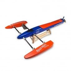 TFL 1128 615mm Blue Arrow Glassfiber Brushless Electric RC Boat with 2958 3300KV Motor 125A ESC