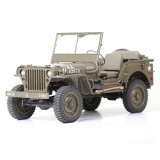 ROCHOBBY 1/6 2.4G 2CH 1941 MB SCALER Remote Control Car Waterproof Vehicle Models Fully Proportional Control w/ Head Light
