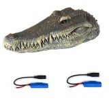 Flytec V005 w/ 2 Batteries Version 2.4G Electric RC Boat Simulation Crocodile Head Vehicles RTR Model Toy