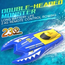 Double E H128 1/47 2.4G 23CM 20KM/H High Speed Mini RC Boat Vehicle Models Children Toy