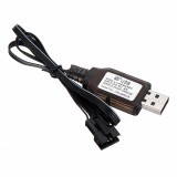 Wltoys 18628 1/18 Spare Li-ion Battery USB Charging Cable 0680 Remote Control Car Vehicles Model Parts