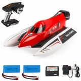 Wltoy WL915 with Two Battery 2.4G Brushless RC Boat High Speed 45km/h Racing RTR Model Toys