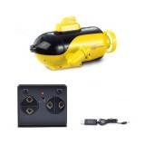 Mini RC Submarine 4 Channels Smart Electric Submarine Boat Simulation Remote Control Drone Model Toy For Children